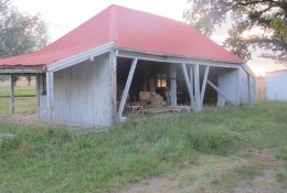 Early Homestead – The Back